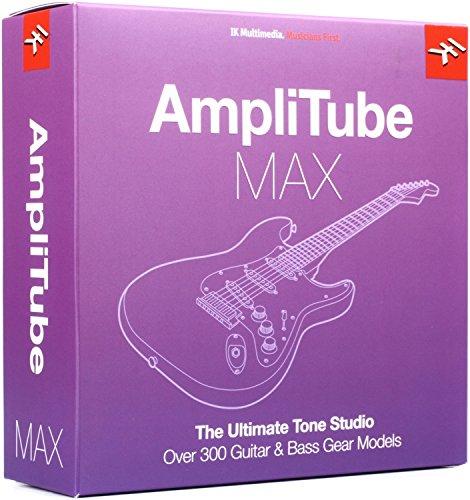 IK Multimedia AmpliTube MAX Bundle, with USB Drive by IK Multimedia