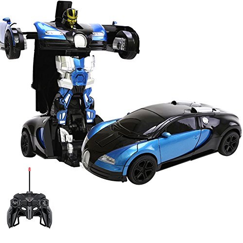 Egoelife Bugatti Figure  Transbianxings Robot Cars Toys Deformation Robot Cars (Transformers For Cars compare prices)