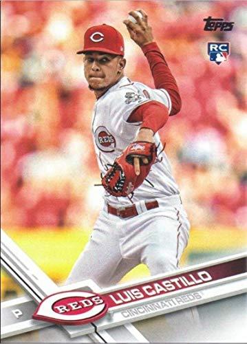 2017 Update Series #US139 Luis Castillo Cincinnati Reds Baseball Rookie Card