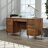 Cheap Sauder 421113 Executive Desk, 59.055″ L X 23.425″ W X 30″ H, Grand Walnut
