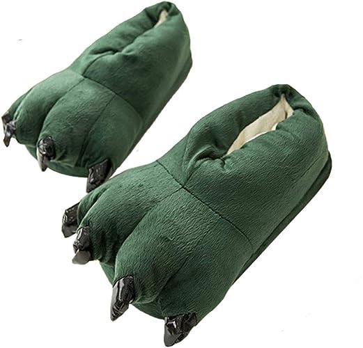 Thicken Warm Winter Slippers Dinosaur