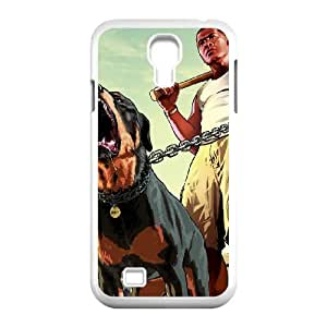 Samsung Galaxy S4 9500 Cell Phone Case White_Grand Theft Auto V_012 Douod