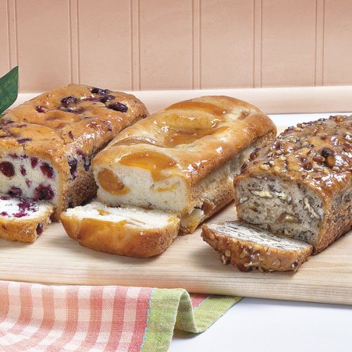 Savannah's Candy Kitchen Fruit Bread Trio by Savannah's Candy Kitchen