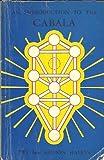 Introduction to the Cabala, Z'ev ben Shimon Halevi, 0877281890