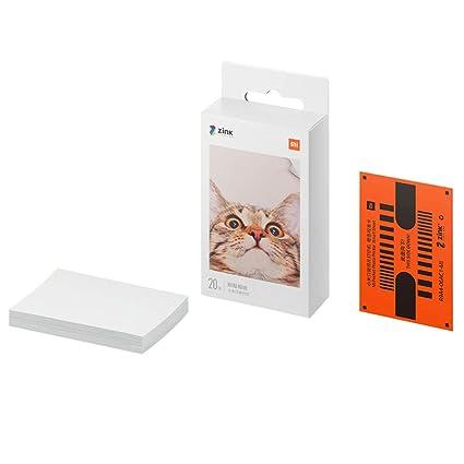 Para Xiaomi Photo Paper, Premium Zink papel fotográfico compatible ...
