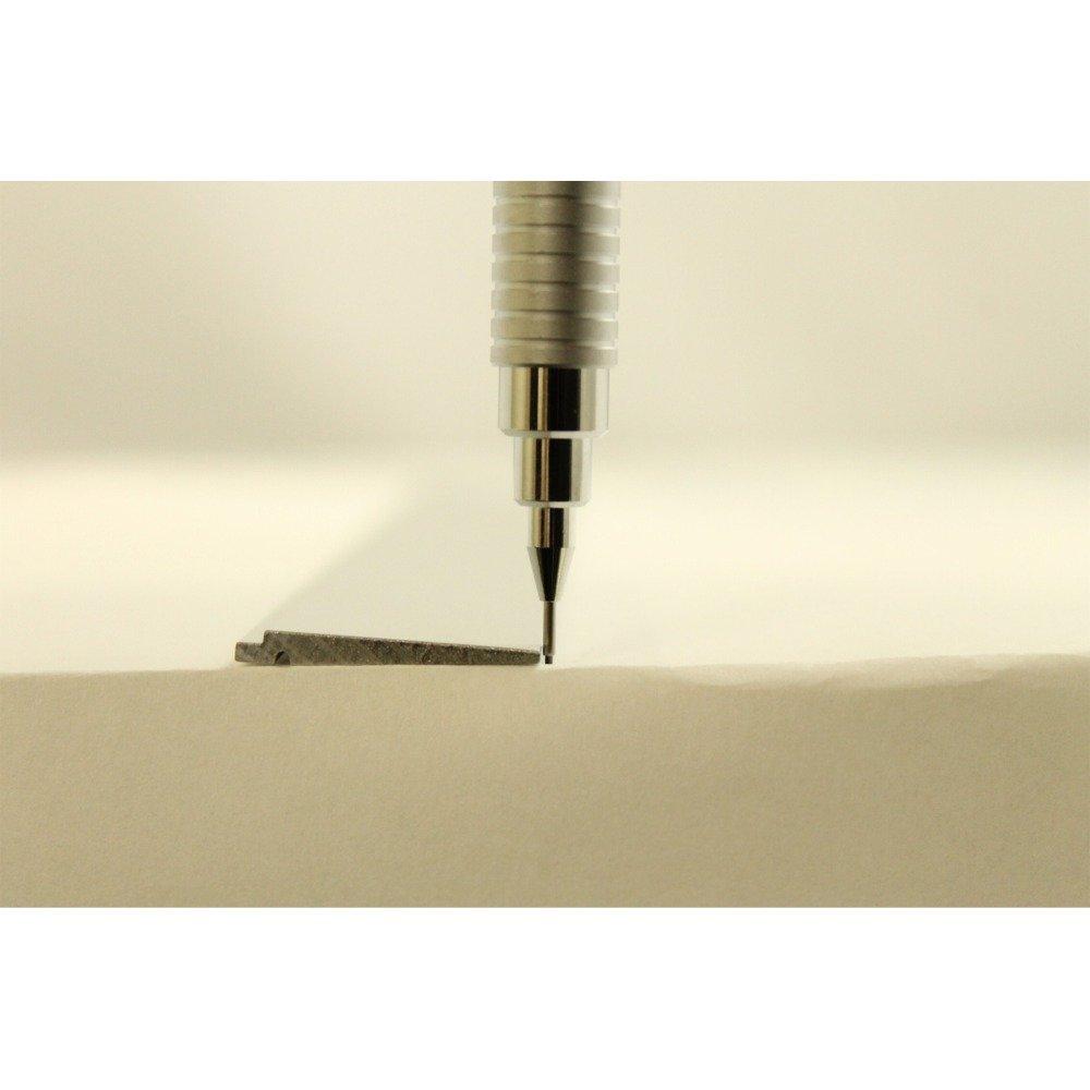 Pentel Drafting Pencil Graph 600, 0.5mm, Mint Blue Body (PG605-S) by Pentel (Image #4)