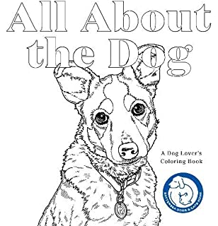 Adult Coloring Book Dogs: Advanced Realistic Dogs Coloring ...