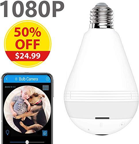 Light Bulb Security Camera WiFi