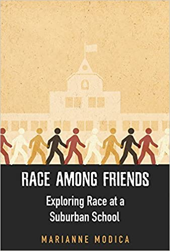 book cover: Race among friends : exploring race at a suburban school