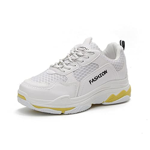 6b9f1d22e4e3d GAOLIXIA Women's Sports Shoes Tulle Leather Spring Fall Comfort ...