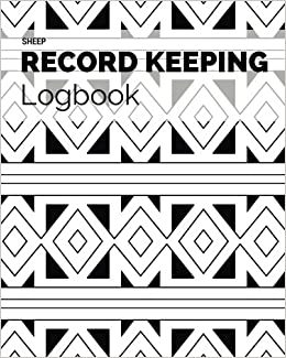 Sheep Record Keeping Logbook Farm Cattle Flock Lambing