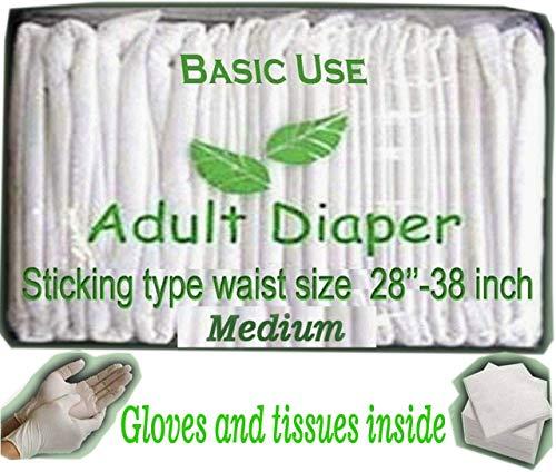 BU Adult Diapers (Medium) – Pack of 20 Pieces