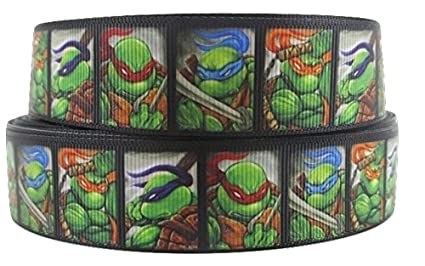 1 Metre Teenage Mutant Ninja Turtles Negro, caras carácter ...