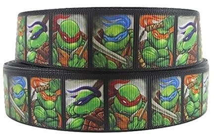 1 Metre Teenage Mutant Ninja Turtles Negro, caras carácter ...
