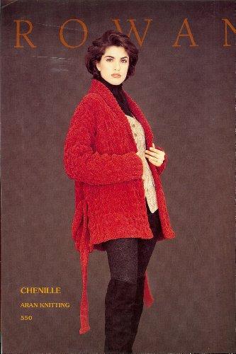 (Rowan Knitting Pattern 550 Sweaters (Shawl Collar Belted Jacket))