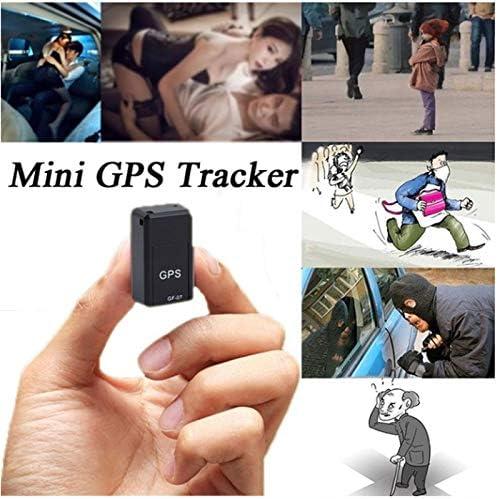 EisEyen - Mini rastreador GPS de Tiempo Real, Seguimiento portátil, Anti pérdida, localizador GPS para Monedero, Bolso, Mochila Escolar, Documentos Importantes, localizador de perdida de Coche