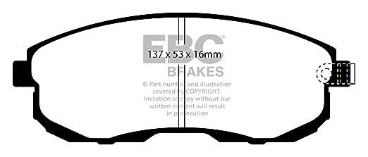 Juke 1.6 Turbo frontal EBC USR Ultimax - Discos de Freno con EBC Ultimax - Pastillas de Freno: Amazon.es: Coche y moto