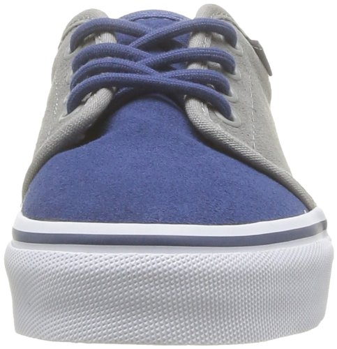 Vans K 106 Vulcanized (Fleece) - Zapatillas de Deporte de cuero nobuck Infantil azul - Bleu (Stvnav)