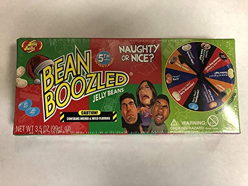 (Set/2) Jelly Belly Bean Boozled Naughty Or Nice Fun Christmas Spinner -