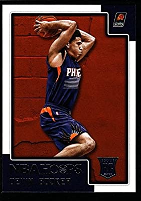 "Devin Booker Mint Suns Glossy Rookie Card Rc Sp 2015-16 Hoops Kentucky Uk ""gem"""