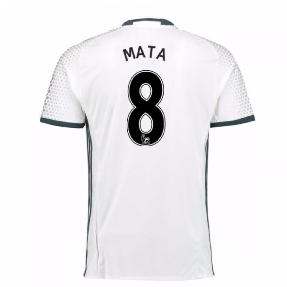 2016-17 Man Utd Third Football Soccer T-Shirt Trikot (Juan MATA 8) - Kids