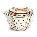 Ceramic Measuring Cup Sets - Various Styles (Circus)