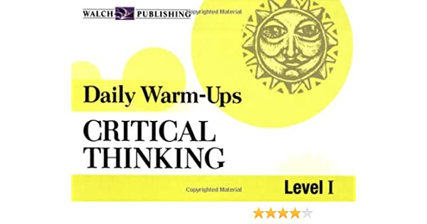 Daily Warm-Ups: Critical Thinking, Level I (Daily Warm-Ups English ...