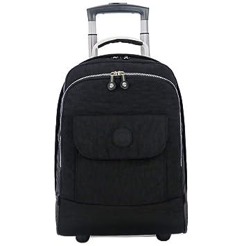 C-Xka Rolling School Bag, Mochila para portátil con Ruedas Mochila para universitarios,