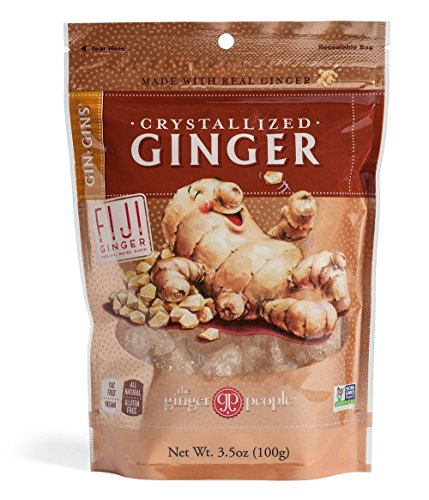 Crystallized Ginger Candy 3 5oz 6 Pack product image