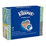 Kleenex Trusted Care Everyday Facial Tissues, Cube Box, 80 Tissues per Cube Box, 6 Packs