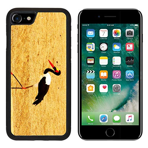 Saddle Stork Billed - MSD Apple iPhone 8 Case Aluminum Backplate Bumper Snap Case Image 22381432 Saddle Billed Stork