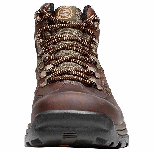 ... Timberland Menns Chocorua Sti Midten Brun-grønn Støvler ...