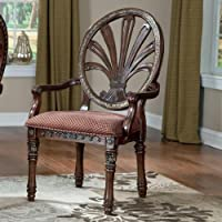 Ashley Furniture Signature Design - Ledelle Arm Chair - Classic Style - Set of 2 - Brown