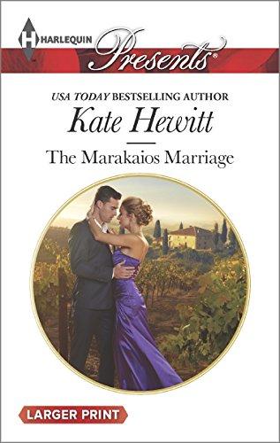 Download The Marakaios Marriage (The Marakaios Brides) book