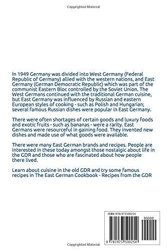 The East German Cookbook - Recipes from the GDR: Roger