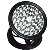 Wiedamark Hi Power 36 1W Colorwater RGB LED Submersible Pond Light With Controller