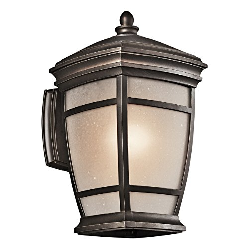 Kichler 49271RZ McAdams Outdoor Wall 1-Light, Rubbed ()