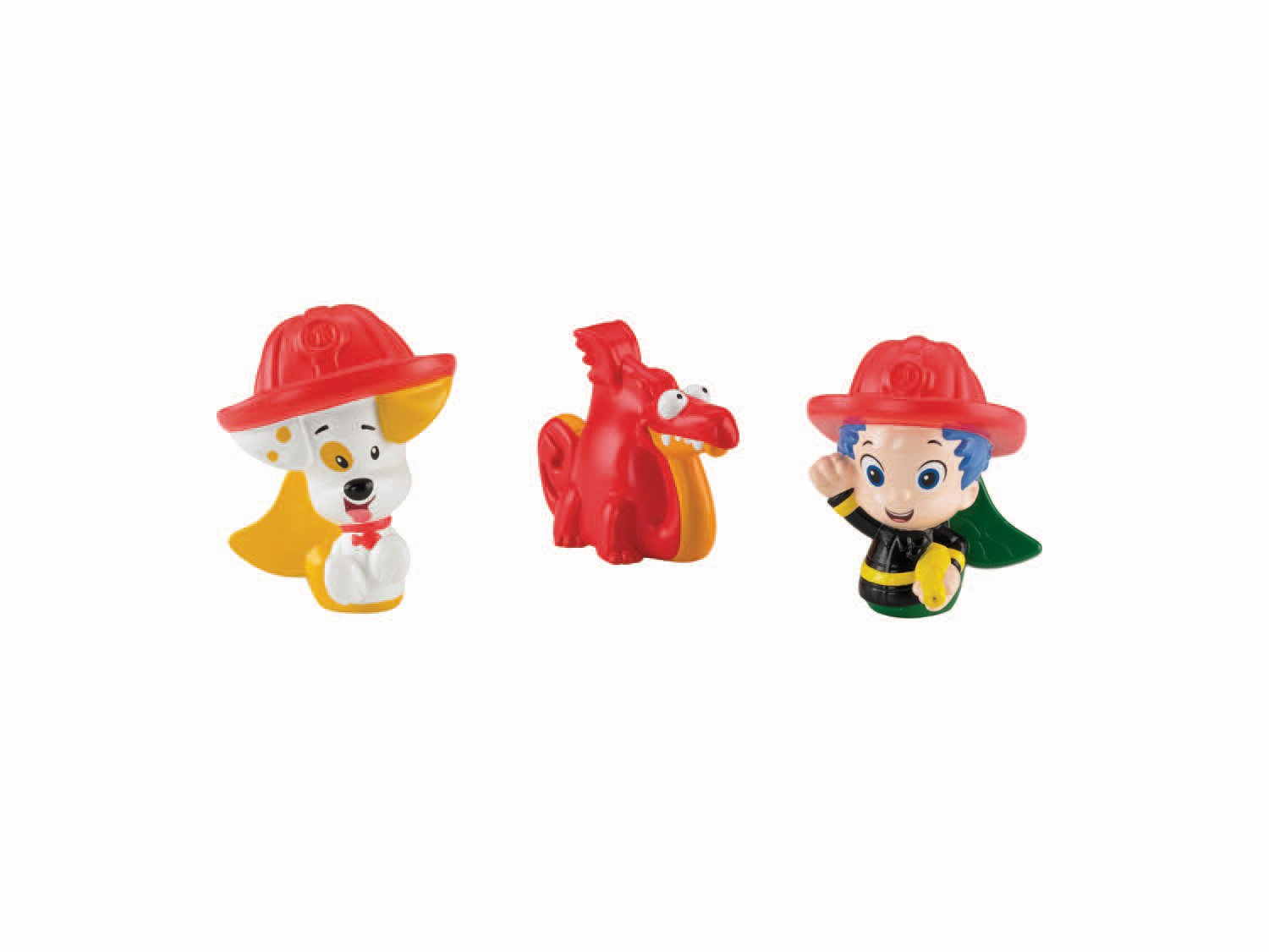 Bubble guppies character rental - Amazon Com Fisher Price Nickelodeon Bubble Guppies Gil Bubble Puppy And Water Dragon Bath Squirters Toy Toys Games