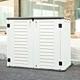 KINYING Storage Shed for Home and Outdoor Muti-function Storage Cabinet