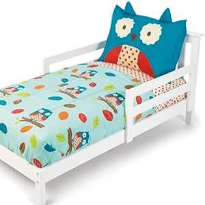 Skip Hop 4 Piece Toddler Bedding Set, Owl