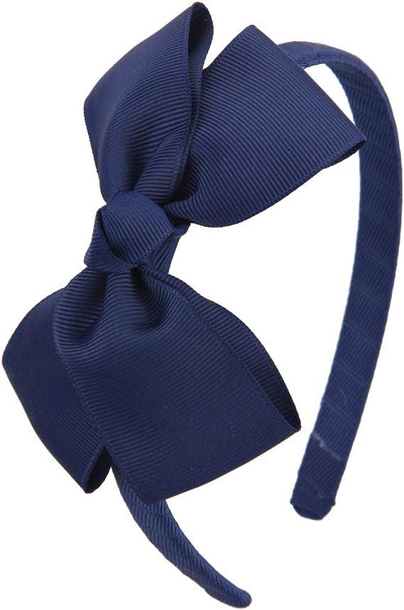Grow with me Headband Tribal Bow Floral Bow Bow Headband Blue Floral Snap Bow Baby Bow