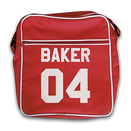 Bag 04 Baker Retro Flight Red red t6dqBdw