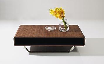 Amazon.com: Ju0026M Furniture Modern Walnut Coffee Table 136A: Kitchen U0026 Dining