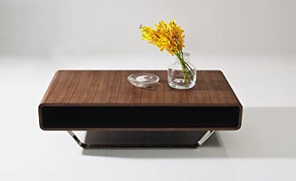 amazon com j m furniture modern walnut coffee table 136a kitchen rh amazon com modern coffee tables. solid wood elm and resin ka modern coffee tables. solid wood elm and resin ka