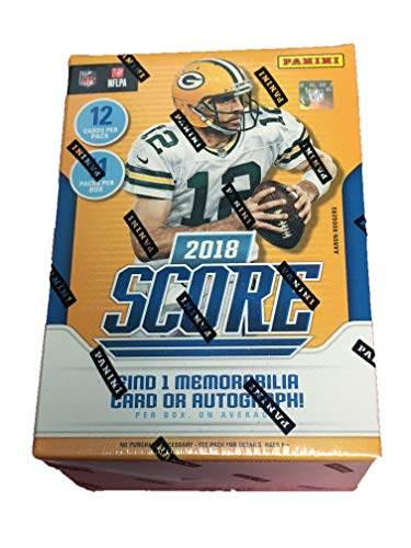 """2018 NFL Score Football Cards Factory Sealed Panini Retail Box!"" from Panini"