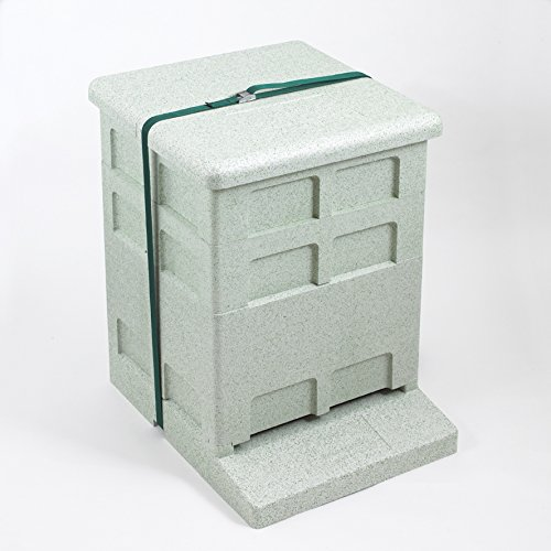 Polystyrene Jumbo (14x12) complete hive - Empty, no frames or foundation Paynes beefarm