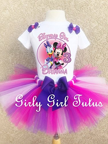 (Minnie Mouse and Daisy Duck Birthday Outfit Set)