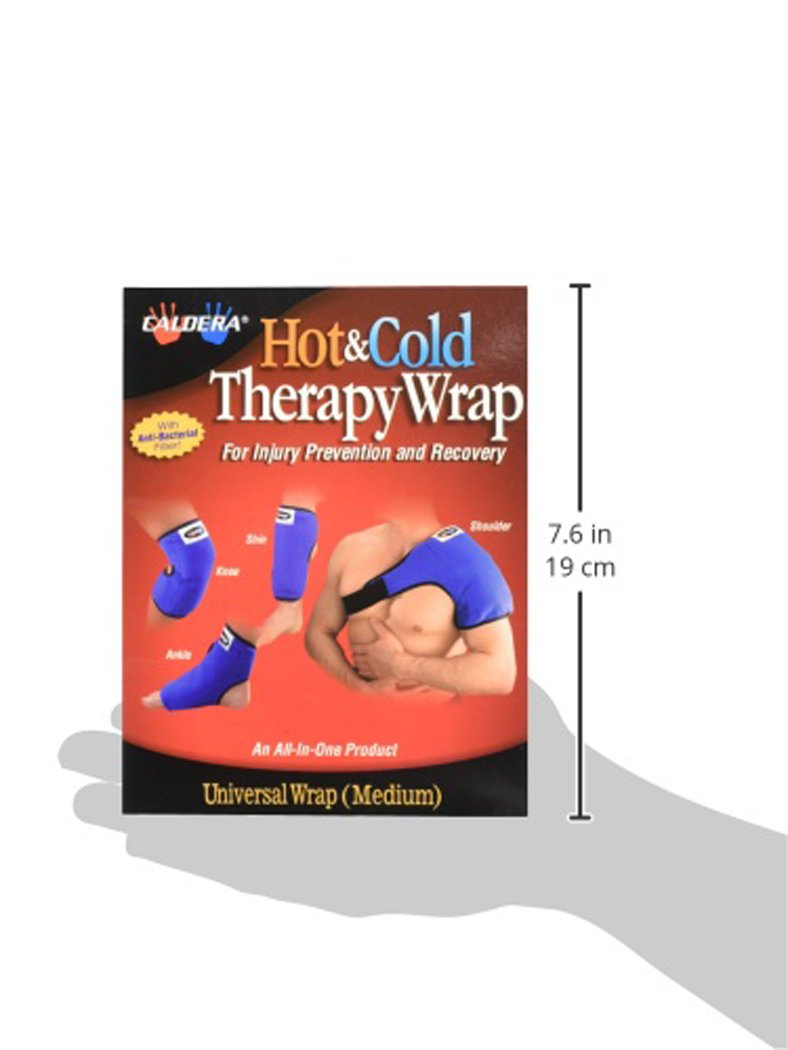 Amazon.com: CALDERA - Universal Therapy Wrap (Includes Reusable Therapy Gel Pack, Size SMALL): Health & Personal Care