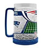 NFL New England Patriots 16oz Crystal Freezer Mug