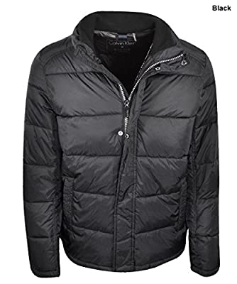New Calvin Klein- Men's Puffer Jacket Medium Black CM522310